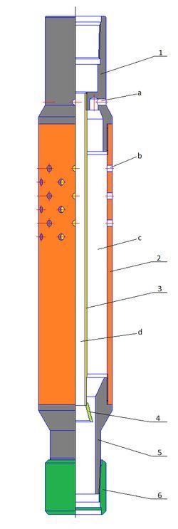 Газопесочный якорь ЯГП2