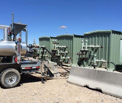 Применение мультифазной станции Leistritz для удаления жидкости на месторождении Piceance, США