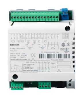 Комнатный контроллер управления RXC21.1 Siemens