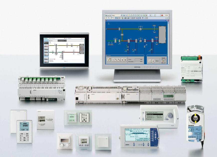 Устройства, интегрированные в систему автоматизации офисного здания под управлением DESIGO™