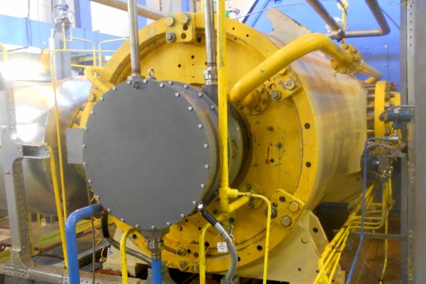 Сменная проточная часть в корпусе ЦБК 295 ГЦ2-500