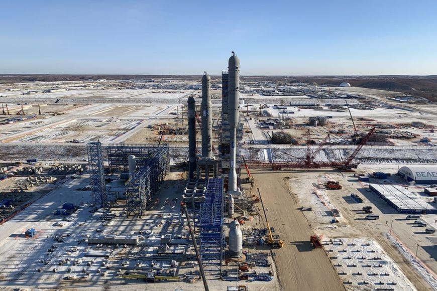 Первый газоперекачивающий агрегат «Ладога» производства АО «РЭП Холдинг» прибыл на строительную площадку Амурского ГПЗ