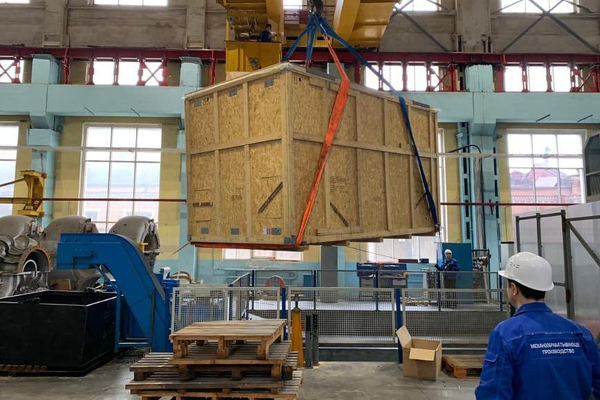 Установка для дробеструйного упрочнения лопаток компрессора и дисков турбины MS 5002Е, входящая в состав газоперекачивающего агрегата ГПА-32 «Ладога»