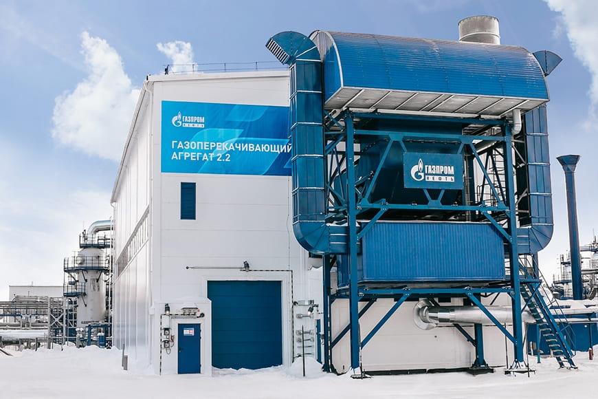 Газоперекачивающие агрегатовы «Ладога» мощностью 32 МВт для Новопортовского нефтегазоконденсатного месторождения