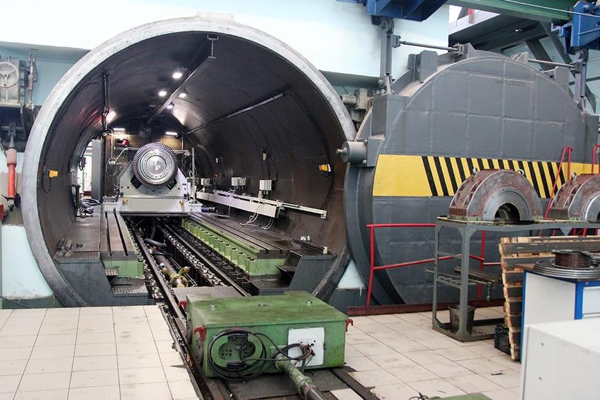 На Невском заводе введен в эксплуатацию модернизированный разгонно-балансировочный стенд