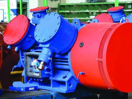 Взрывозащищенный электродвигатель с повышенным КПД и сниженным уровнем шума
