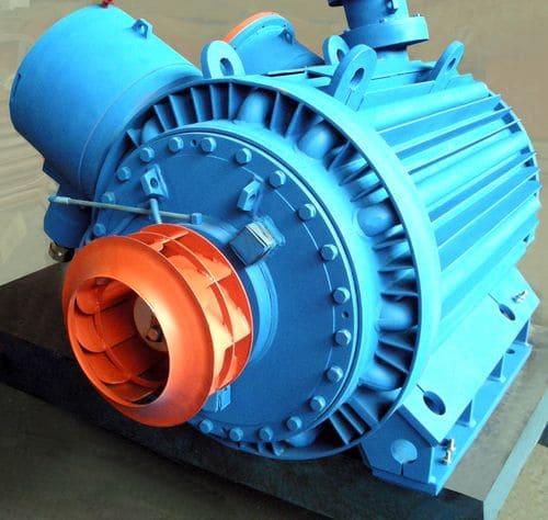 Одна из конструктивных особенностей двигателя – вентилятор нового типа
