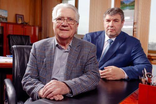А. В. Гловацкий и глава концерна В. В. Дорохин