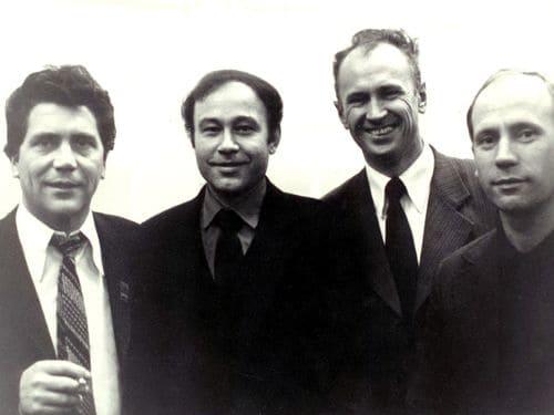 На всесоюзном собрании директоров электромашиностроительных заводов. 1981 г.