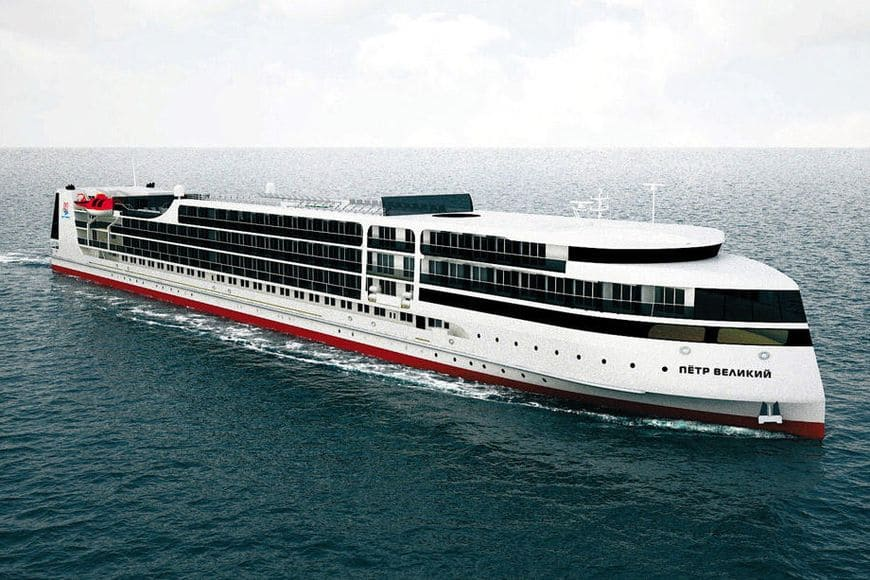 Круизный лайнер «Петр Великий» проекта PV300VD
