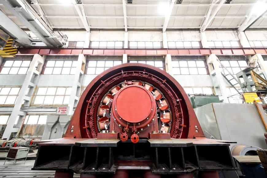 Обязательный производственный этап – тестирование электрических машин на испытательном стенде
