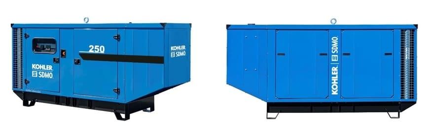 KOHLER-SDMO: ДГУ J220 и J250 в новом эргономичном и экономичном кожухе М139