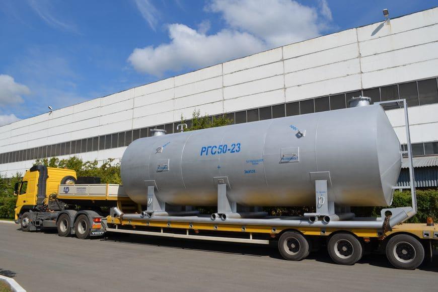Резервуар горизонтальный стальной «РГС»