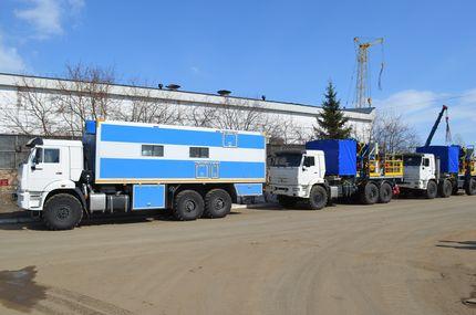 Второй комплекс технологического оборудования для нефтяного сервиса по технологии ТГХВ БС