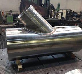 Производство гнутых отводов с использованием технологии индукционного нагрева