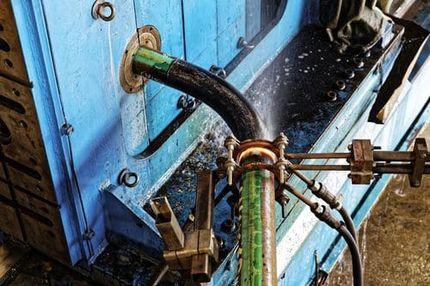 Гнутье трубы с использованием технологии индукционного нагрева