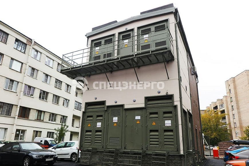 КТПМ 35 кВ для электроснабжения Петроградского района
