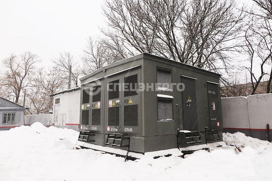 БКТП для реконструкции электросетевых объектов филиала ПАО «Россети Ленэнерго» «Кабельная сеть»