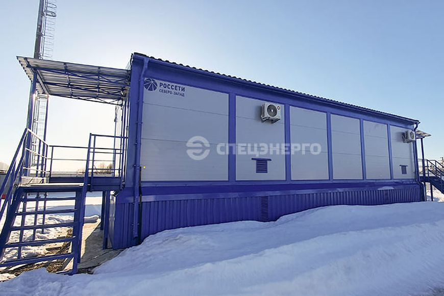 Строительство цифровой подстанции 35/10 кВ «Молочное»
