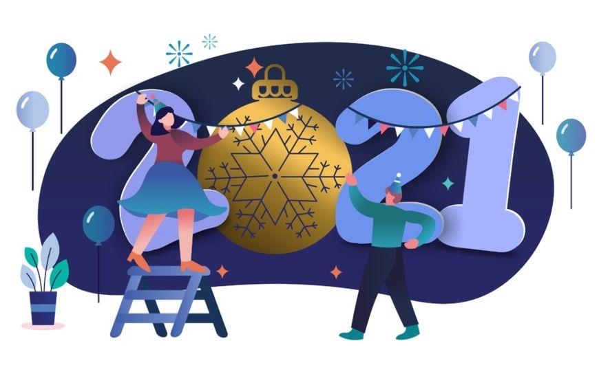 АО «Морозовский химический завод» поздравляет с Новым годом!