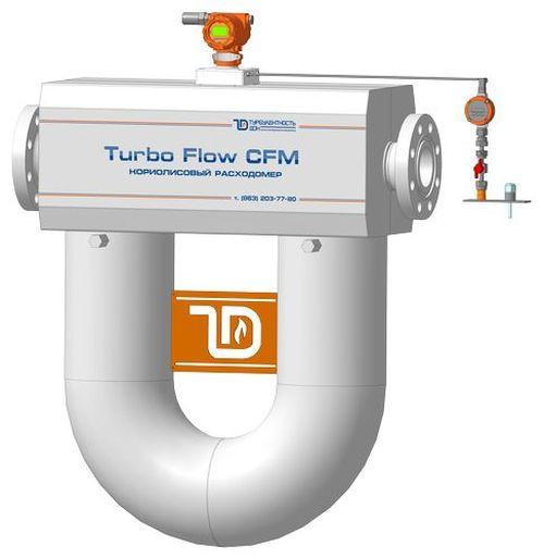 Расходомер Turbo Flow CFM производства ООО НПО «Турбулентность-Дон»