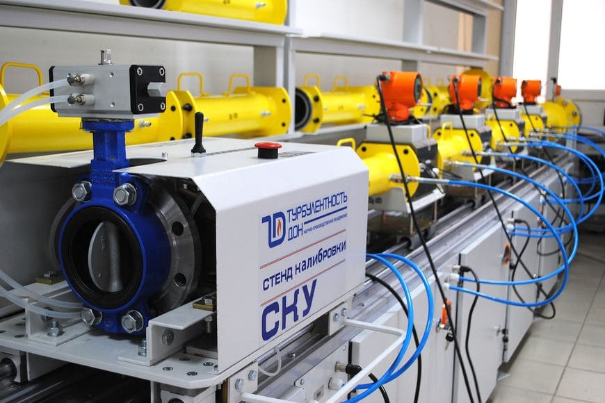 Автоматизированная поверочная установка ультразвуковых счетчиков газа СКУ