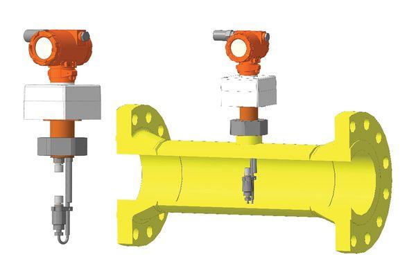 Потоковый измеритель плотности газа, модификация UDM-F