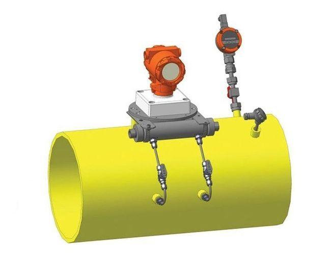 Потоковый измеритель плотности газа, модификация UDM-B