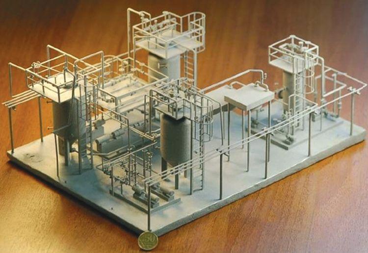. Макет ключевого блока термокавитационной конверсии [4]