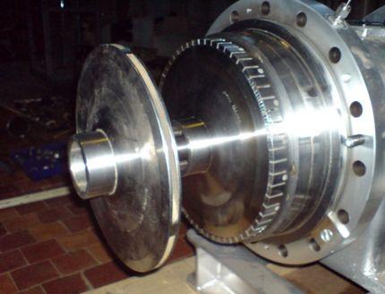Гидродинамический роторный кавитатор конверсии мазутов