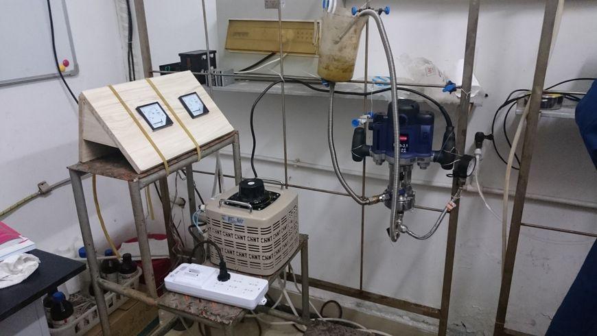 Проточная установка кавитационного воздействия