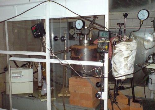 Установка термоконверсии и термополиконденсации