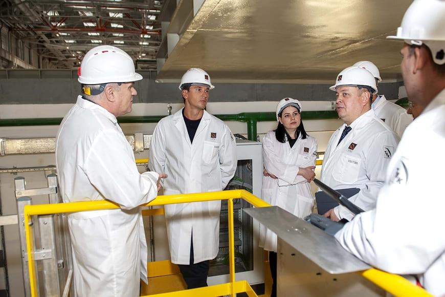 ТМК и «Газпром нефть» обсудили вопросы сотрудничества в научно-технической сфере