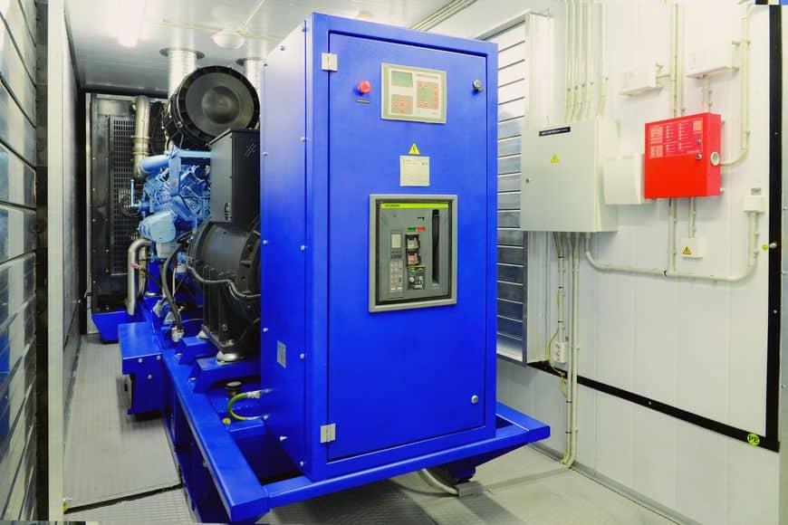 Дизель-генераторная установка TSS Baudouin 800 кВт в блок-контейнере