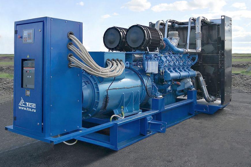 ДГУ TSS Baudouin 1000 кВт в открытом исполнении