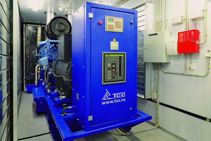 ДЭС мощностью 800 кВт в контейнерном исполнении на базе высокоэффективного двигателя Moteurs Baudouin