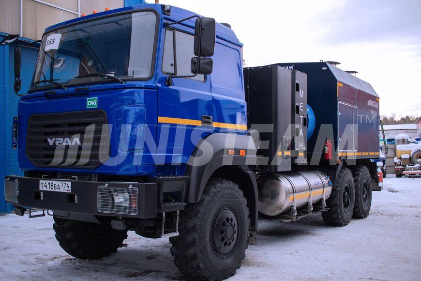 УМП 400 Универсальный моторный подогреватель серии UNISTEAM-UMPG на метане КПГ/СПГ