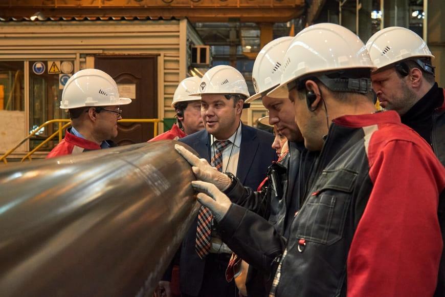 Визит нефтяных компаний на Уралтрубпром