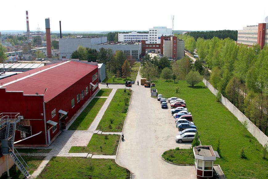 Общий вид завода ВМП, г. Екатеринбург