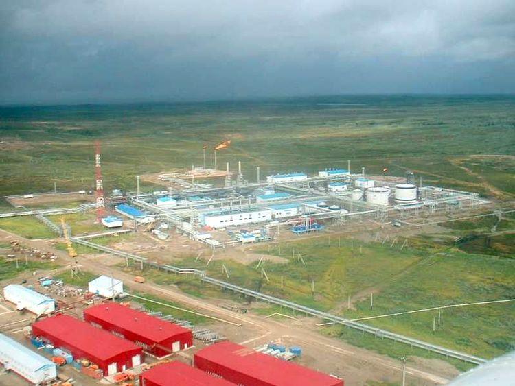 Металлоконструкции ЦПС Южно-Шапкинского месторождения, 2002–2004 г.г. Покрытие ЦИНОТАН+ПОЛИТОН-УР