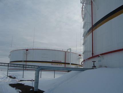 Резервуары РВС – 20 000 м ³