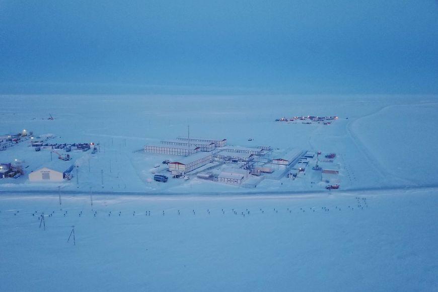 Лакокрасочное покрытие ИЗОЛЭП-mastic защищает сваи объектов проекта «Арктик СПГ 2» ПАО «НОВАТЭК»