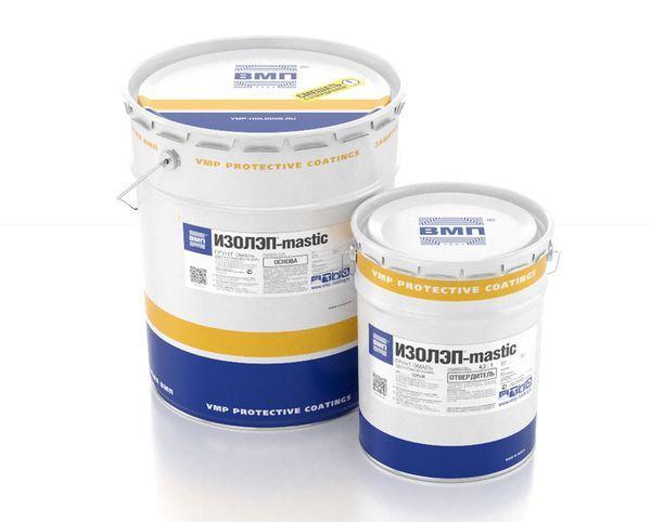 Грунт-эмаль ИЗОЛЭП-mastic для антикоррозионной и противопучинистой защиты