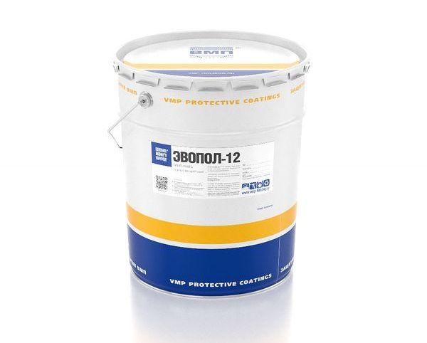 Грунт-эмаль ЭВОПОЛ-12 для защиты металла и бетона