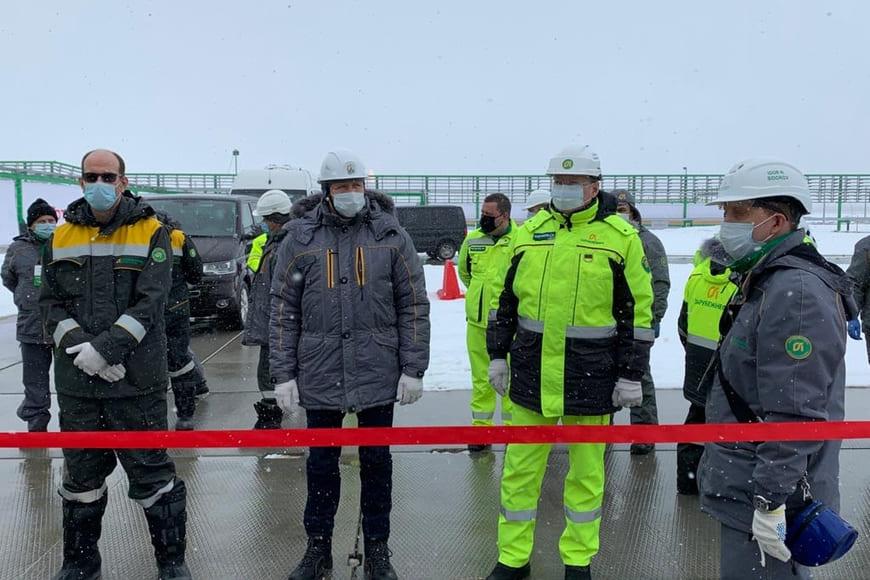 «Зарубежнефть» открыла новый вахтовый комплекс на Харьягинском месторождении
